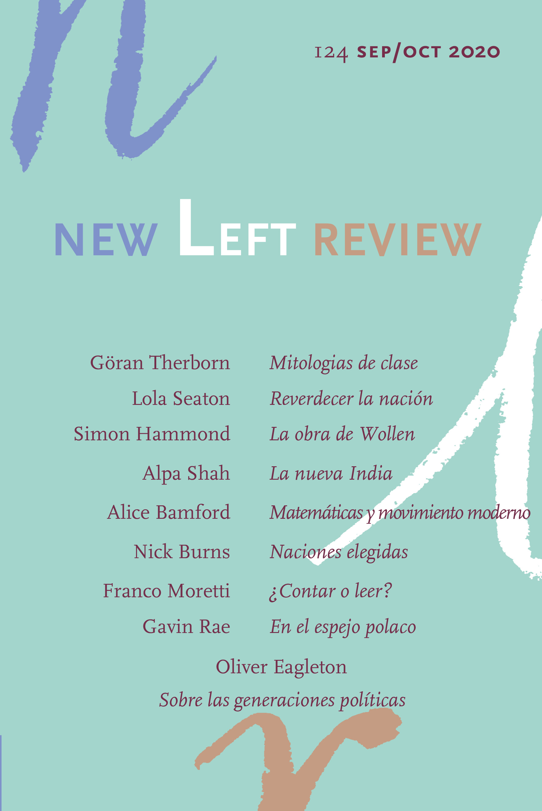 New Left Review 124 (Sep/Oct 2020) - VV AA