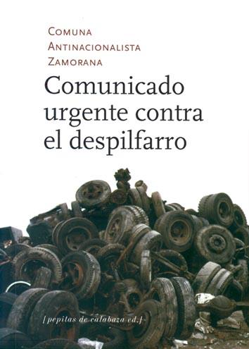 comunicado-urgente-contra-el-despilfarro-978-84-15862-49-9