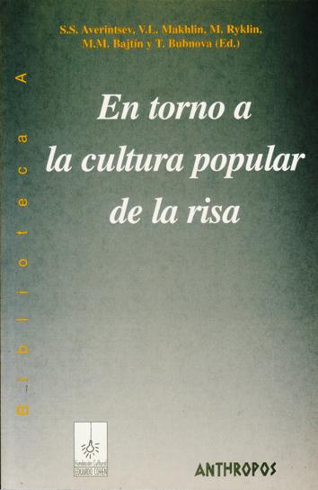 en-torno-a-la-cultura-popular-de-la-risa-9788476585849